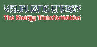 REVOLVE visualizing energy photo exhibition logo